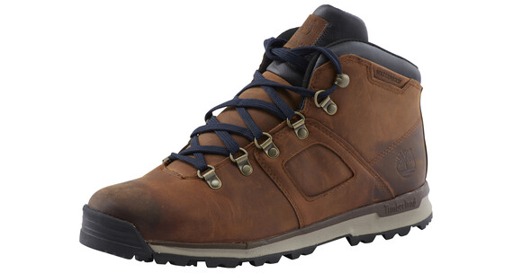 Timberland GT Scramble Mid Leather WP Shoes Men brown